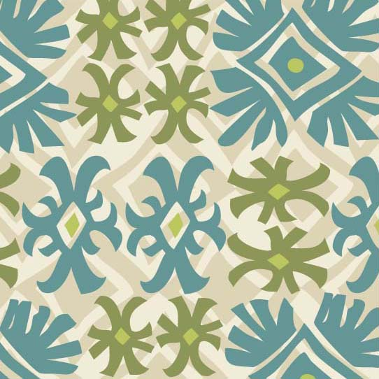 Room Creative Geometric Ethnic Snowflakes Detail